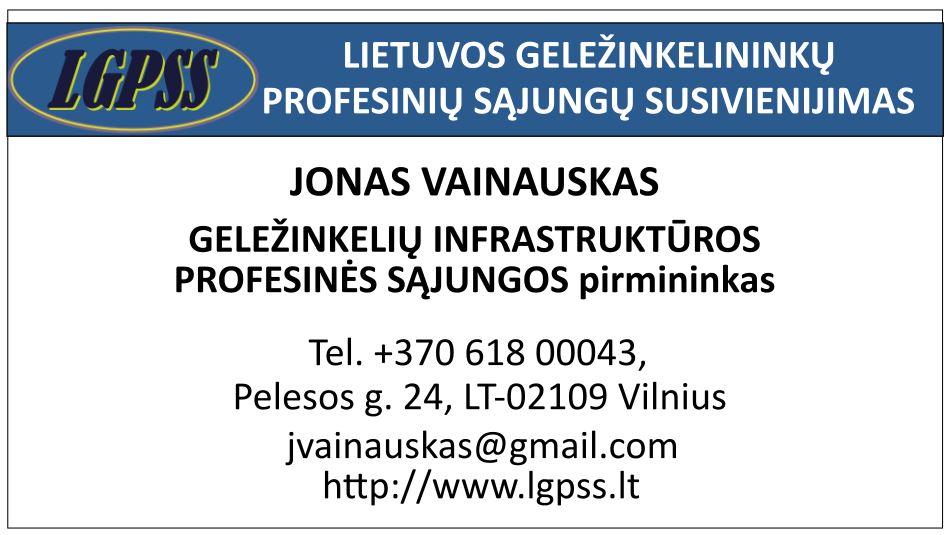 Jonas Vainauskas pirmininkas