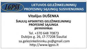 Vitalijus Dušenka –ŠAGPS pirmininkas